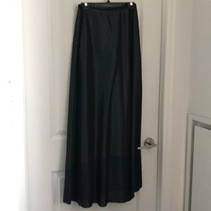 Vintage Tahari full length skirt gown -size 2
